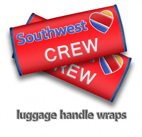 Southwest Crew- Luggage Handles Wraps