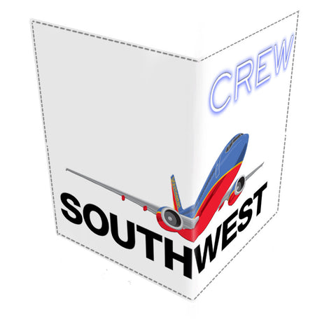 Southwest OLD LOGO CREW-Passport Cover
