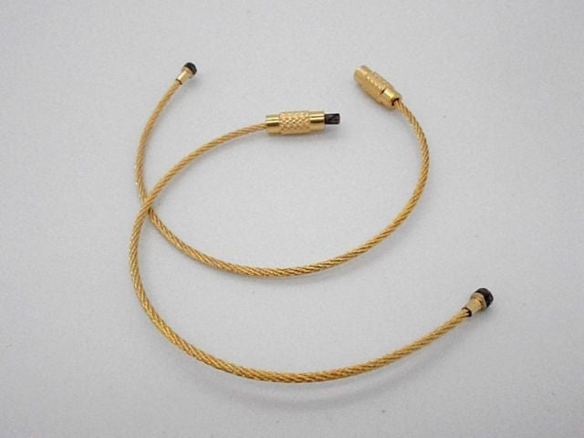 Steel Cable Loops-GOLD