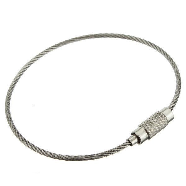 Steel Cable Loops-Nickel