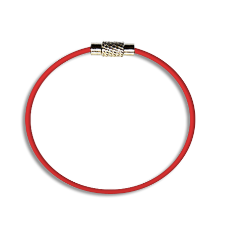 Steel Cable Loops-RED