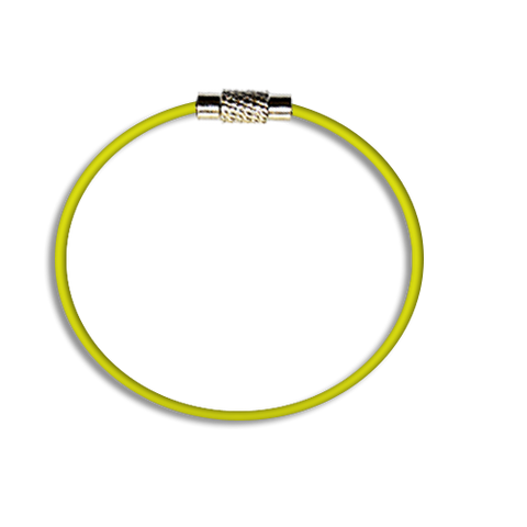 Steel Cable Loops-YELLOW
