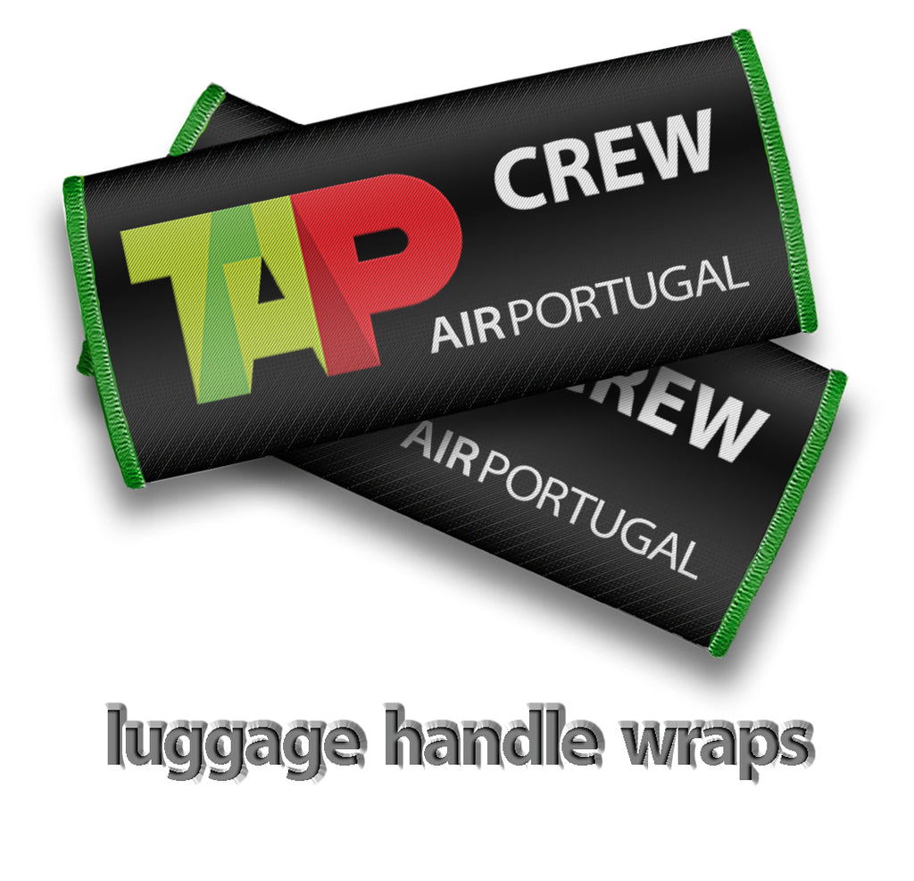 TAP Air Portugal Crew- Luggage Handles Wrap