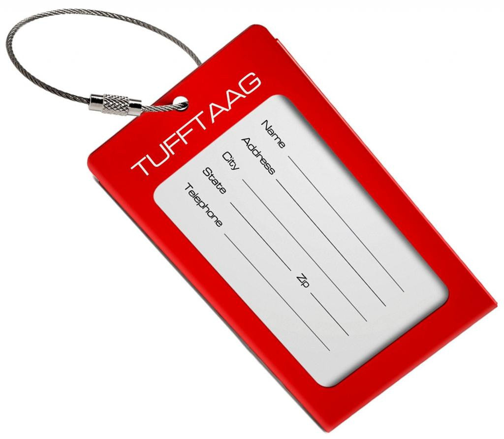 Tufftaag Metal Business Card Luggage Tag-(3 Colours)