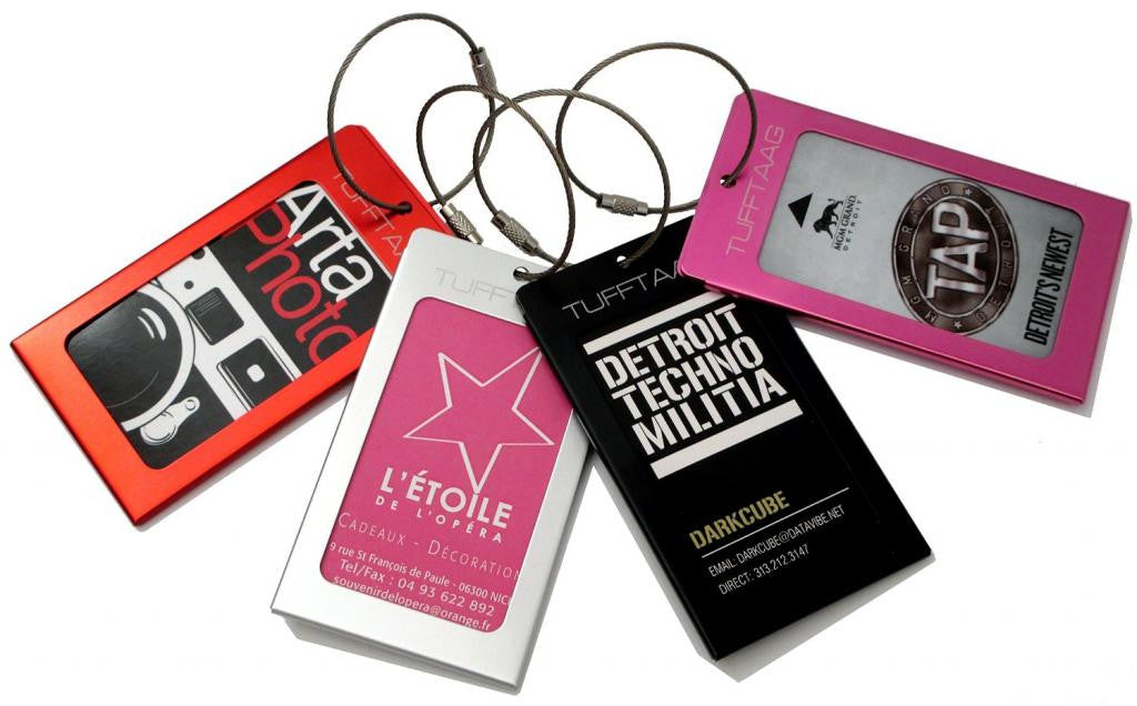 1620cd90c3da Tufftaag Metal Business Card Luggage Tag-(3 Colours)