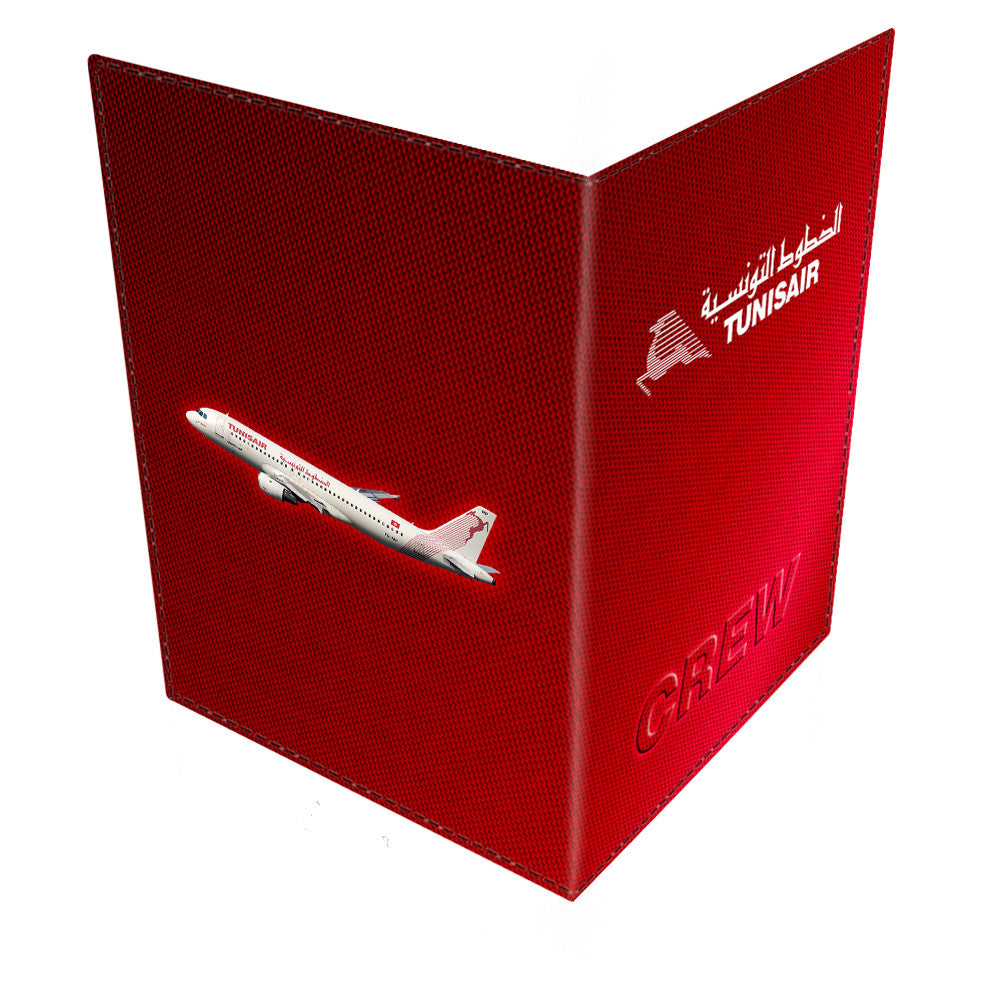 TUNISAIR LOGO - Passport Cover