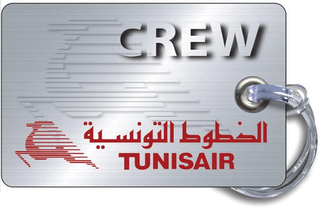 Tunisair Logo-Steel Effect