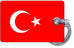 Turkey Flag-White