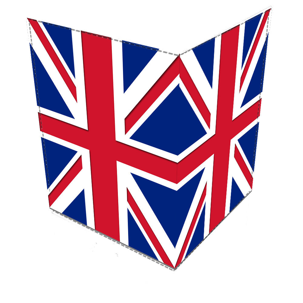 Union Jack Leather Passport Cover