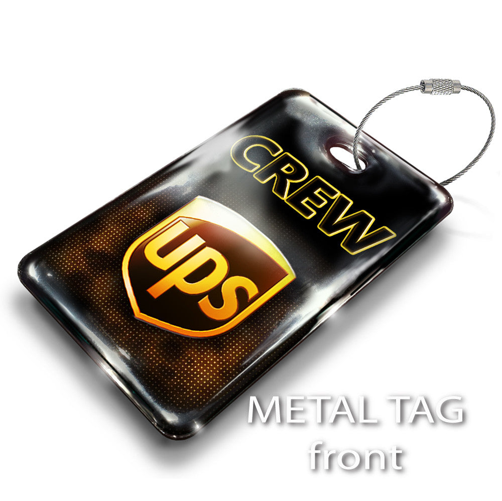 UPS Logo Portrait Black