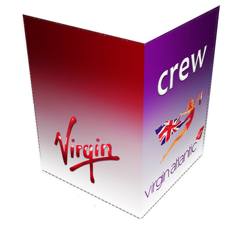 Virgin Atlantic Flying Lady Passport Cover