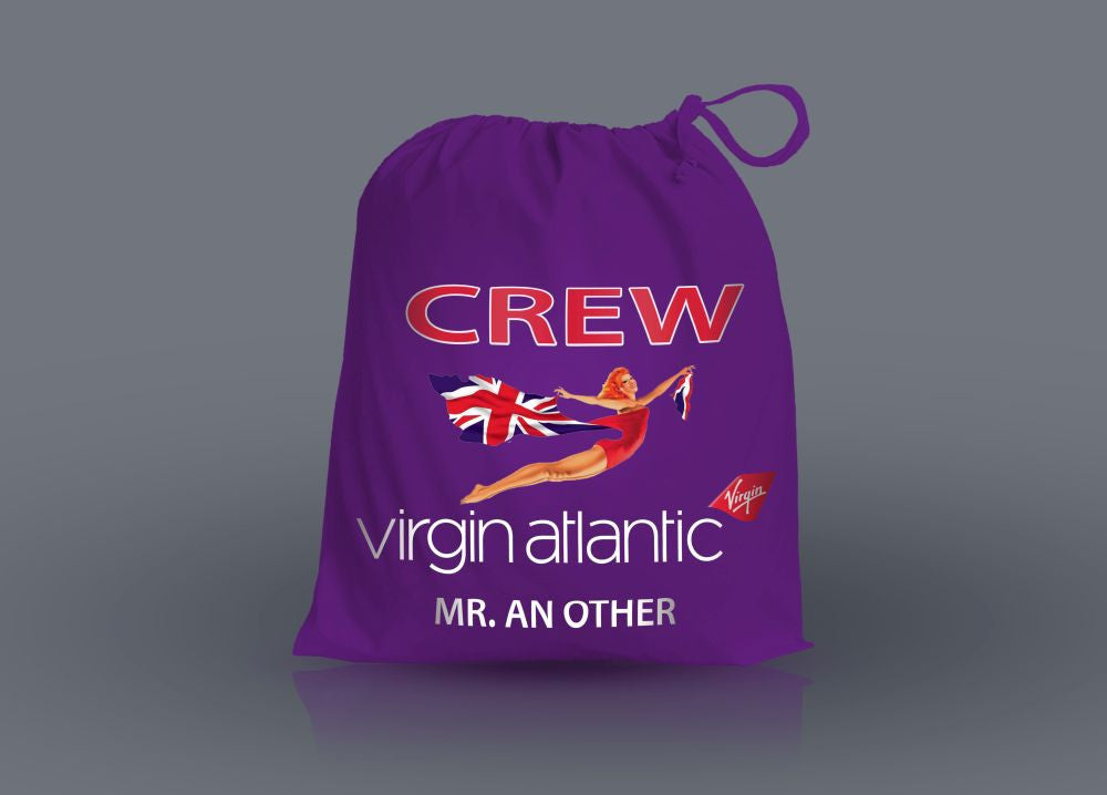 Virgin Crew-Personalised Shoe Bag