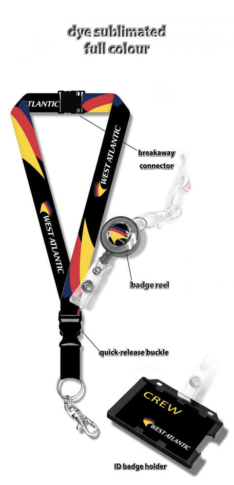 West Atlantic Logo Lanyard