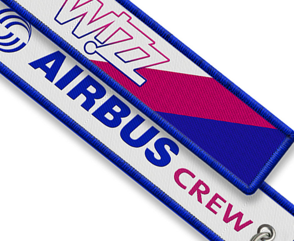 Wizzair-Airbus Crew Embroidered keyring