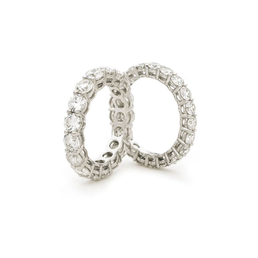 Basket Set Diamond Eternity Rings | Shirin Uma