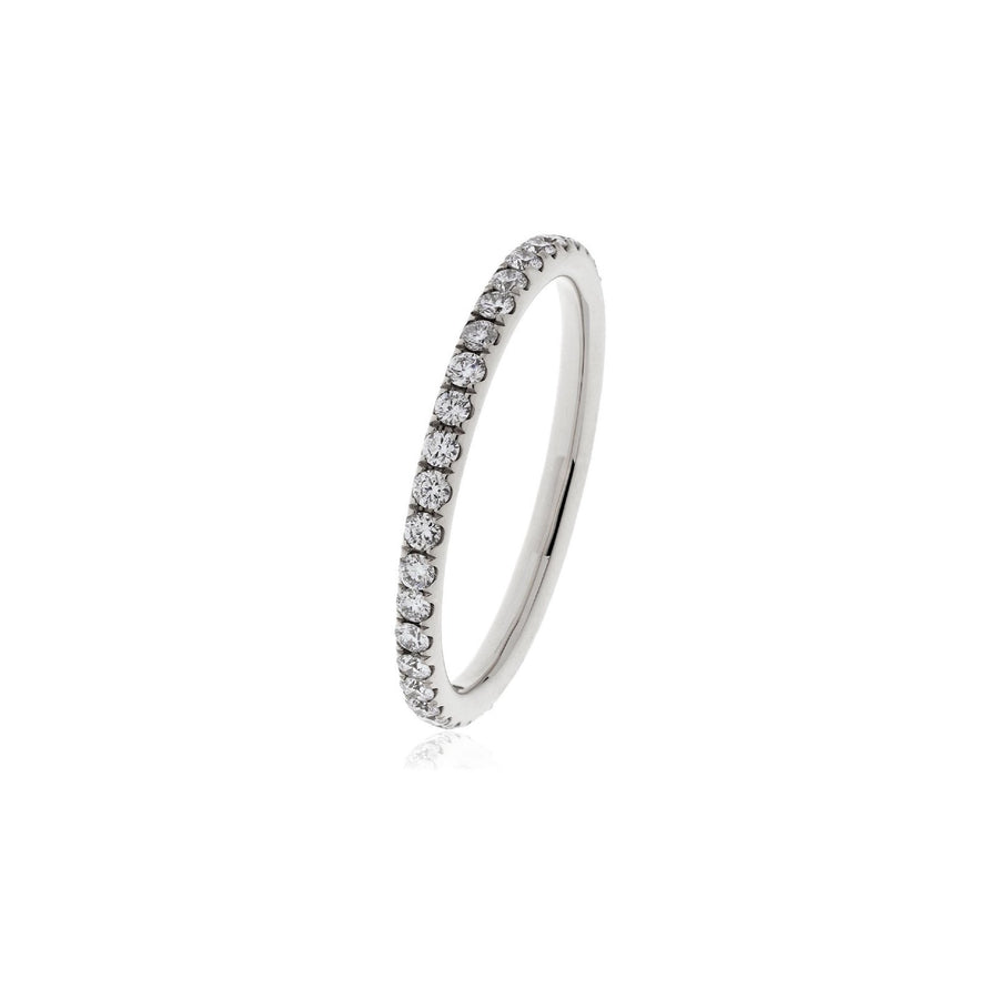 Fishtail Set Diamond Eternity Ring - Demi | Shirin Uma