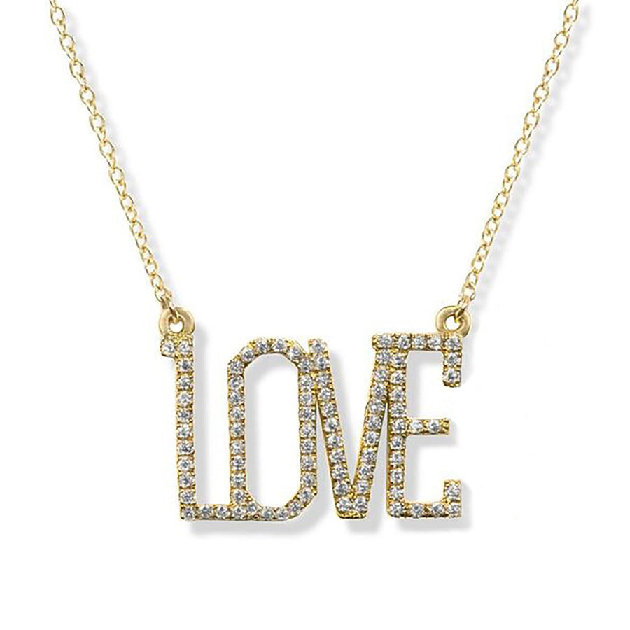 Love - Diamond Necklace | Shirin Uma
