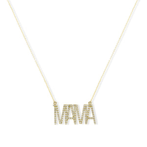Mama - Diamond Necklace | Shirin Uma