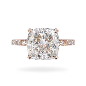 Pinky - Cushion Diamond Engagement Ring | Shirin Uma