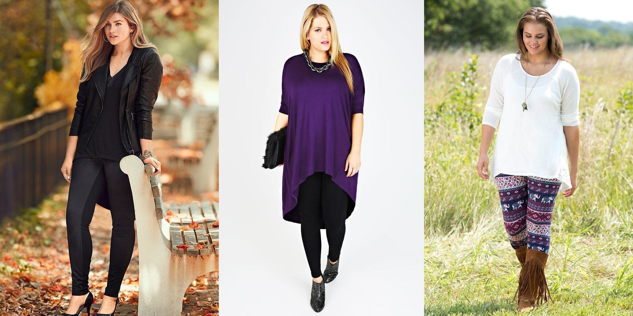 How to Wear Leggings for Plus Size