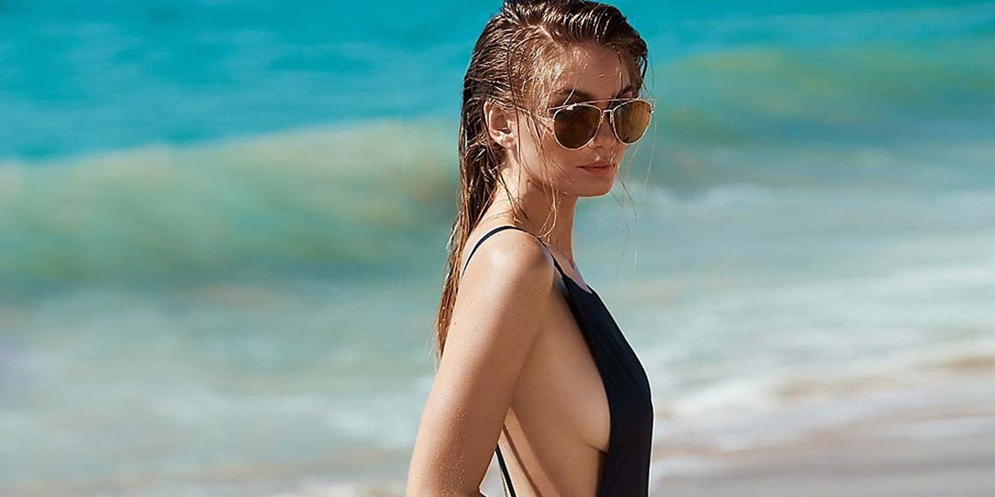 How to Look Good in a One-Piece Swimsuit