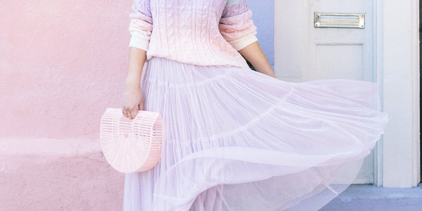 This Season's Color Trend: Pastels