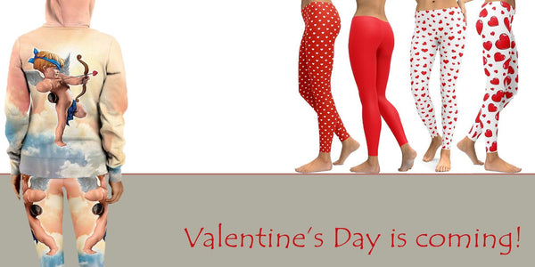 Valentine's Day Leggings and How to Wear Them