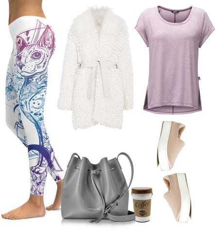 91c702e8ebca3 10 Easy and Comfortable Back to School Leggings Outfits