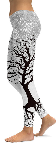 Light Tree of Life Leggings