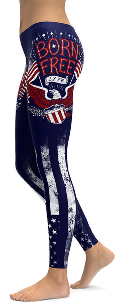 American Patriot - Born Free Leggings