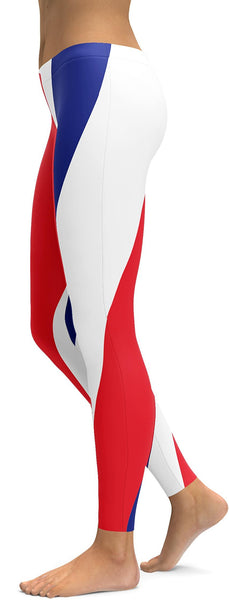 French Flag Leggings