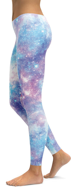 Pastel Galaxy Leggings