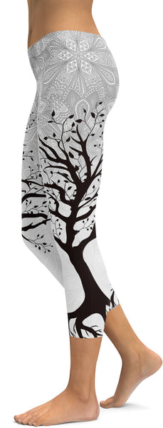 Light Tree of Life Capris