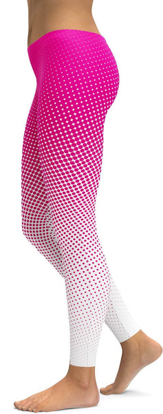Pink Halftone Leggings