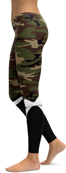 Army Bow Leggings
