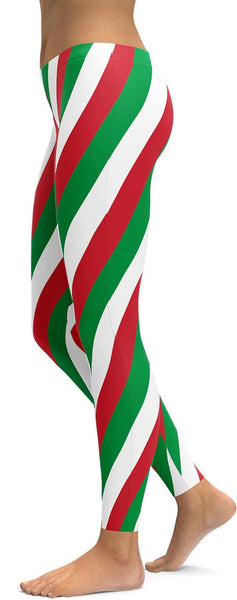 Italian Flag Leggings