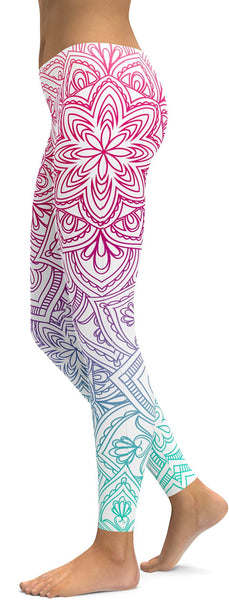 Bright Mandala Leggings