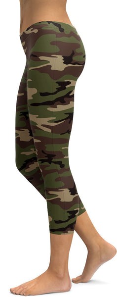 Womens Camouflage Leggings, Tights & Yoga Pants.