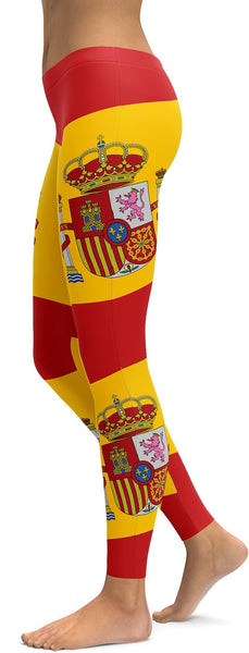 Spanish Flag Leggings