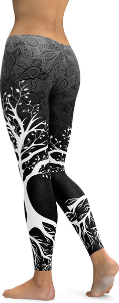 e0a91196aee627 ... Dark Tree of Life Leggings - GearBunch Leggings / Yoga Pants ...