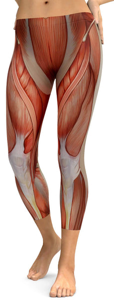 Realistic Human Muscles Capris