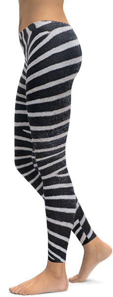 Zebra Skin Leggings