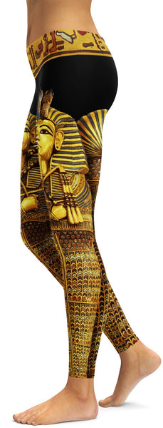 King Tut inspired Leggings