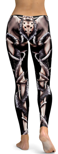 Organic Skeleton Leggings