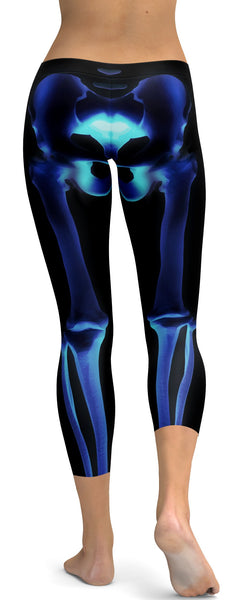 X-ray Skeleton Capris