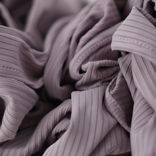 NEW & EXCLUSIVE | Ribbed Jersey Collection | Dusty Mauve - Mai Official