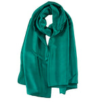 Rayon Silk Luxury Hijab | Emerald Teal - Mai Official
