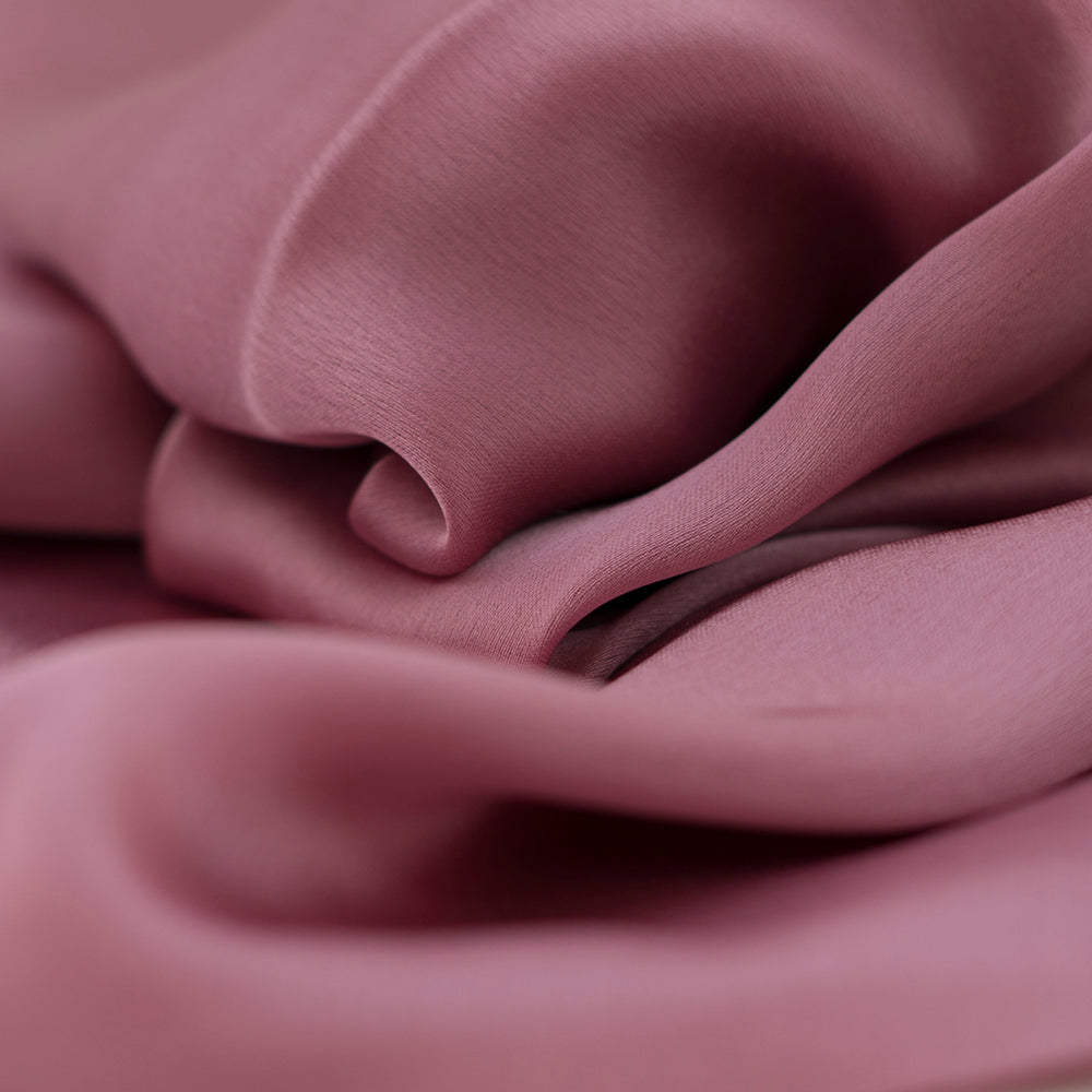 Rayon Silk Luxury Hijab | Pink Glow - Mai Official