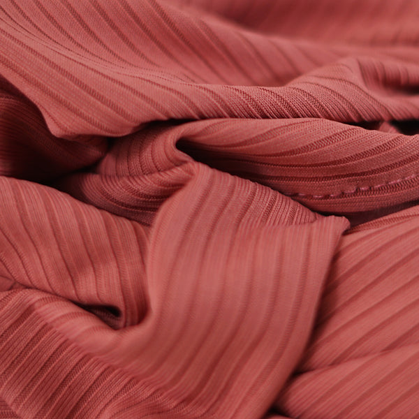 NEW COLOUR | EXCLUSIVE | Ribbed Jersey Collection | Salmon Pink - Mai Official