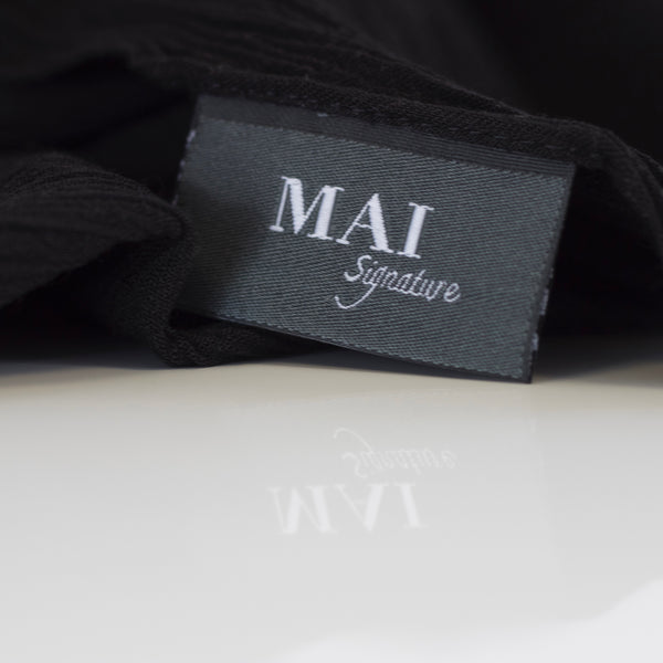 New Colours | Signature Collection | Exclusive to MAI | 100% Rayon Crinkle Maxi Collection | Black, Renaissance, Dune and Malt - Mai Official
